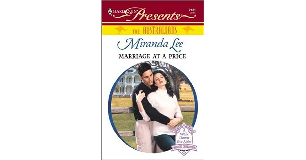 Marriage At A Price By Miranda Lee border=
