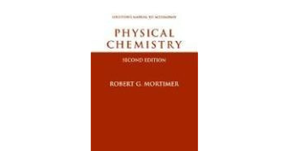 Physical Chemistry Student Solutions Manual By Robert G
