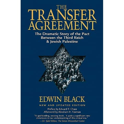 The Transfer Agreement The Dramatic Story Of The Secret Pact