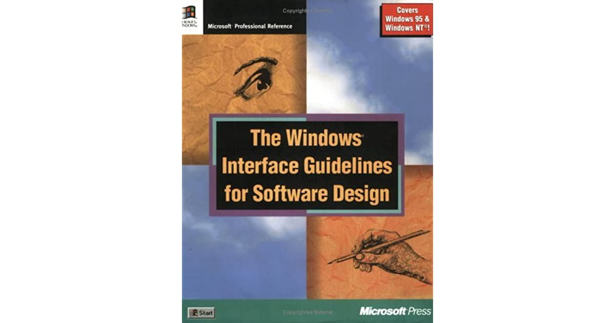 The Windows Interface Guidelines For Software Design An Application Design Guide By Microsoft Corporation