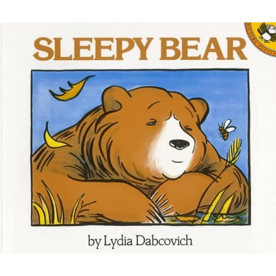 sleepy bear by lydia dabcovich reviews discussion. Black Bedroom Furniture Sets. Home Design Ideas