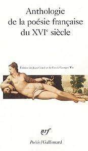 Anthologie de la poésie française du XVIe siècle