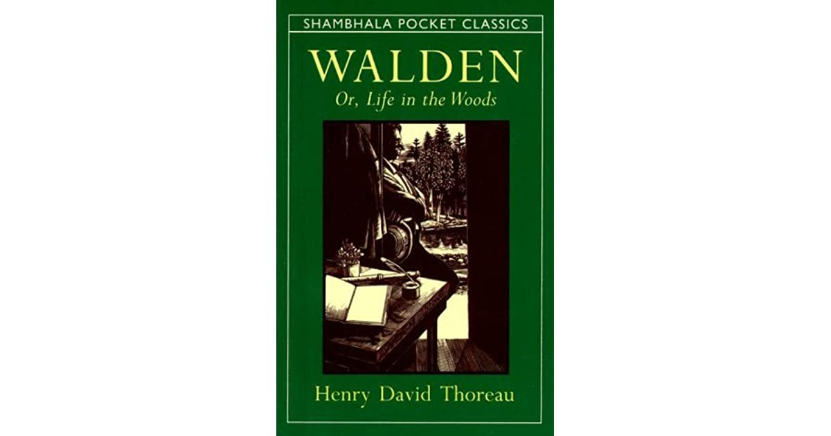 an analysis of paradoxes in walden by henry david thoreau Walden: or, life in the woods - ebook written by henry david thoreau read this book using google play books app on your pc, android, ios devices download for offline reading, highlight, bookmark or take notes while you read walden: or, life in the woods.