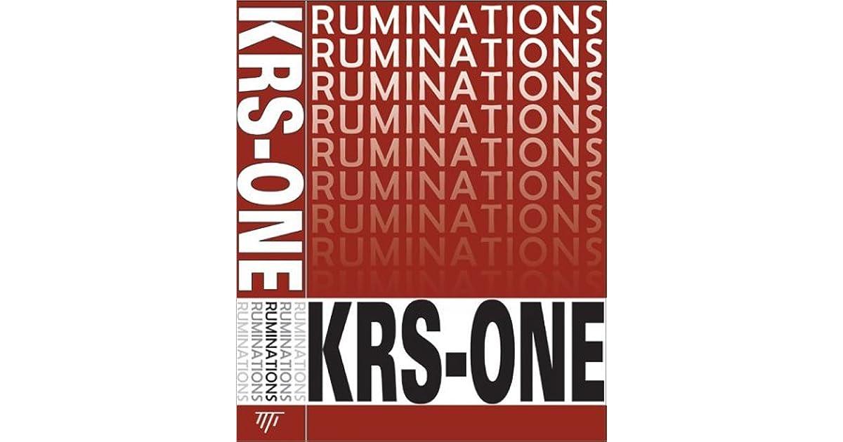 krs one the gospel of hip hop pdf download