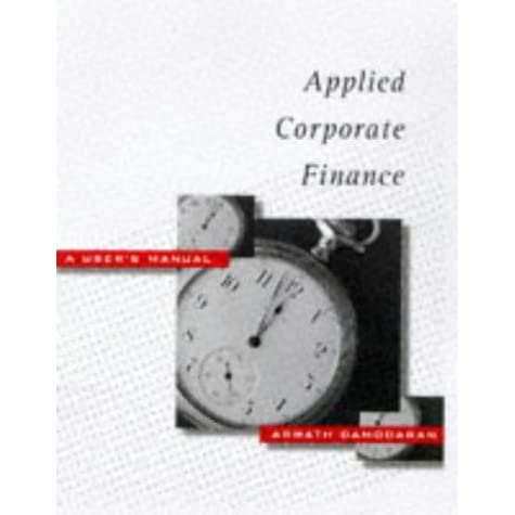 advanced corporate finance Free essay: university of puget sound school of business and leadership bus 434 advanced corporate finance professor alva wright butcher tues-thurs.