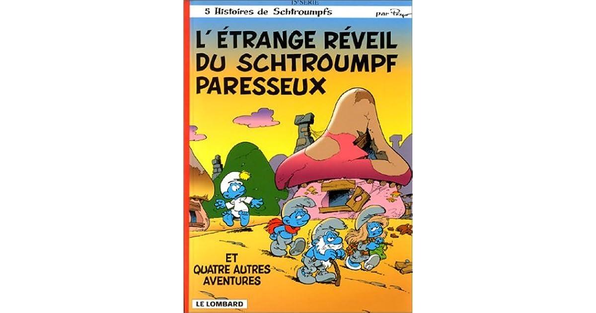 L 39 trange r veil du schtroumpf paresseux by peyo - Schtroumpf paresseux ...