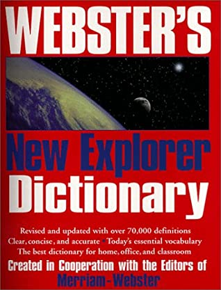 Websters New Explorer Large Print Dictionary