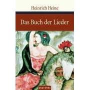 Das Buch Der Lieder By Heinrich Heine