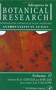 Advances in Botanical Research, Volume 37: Anthocyanins in Leaves