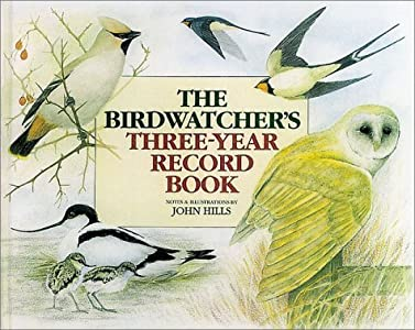 Birdwatcher's 3-Year Record Book