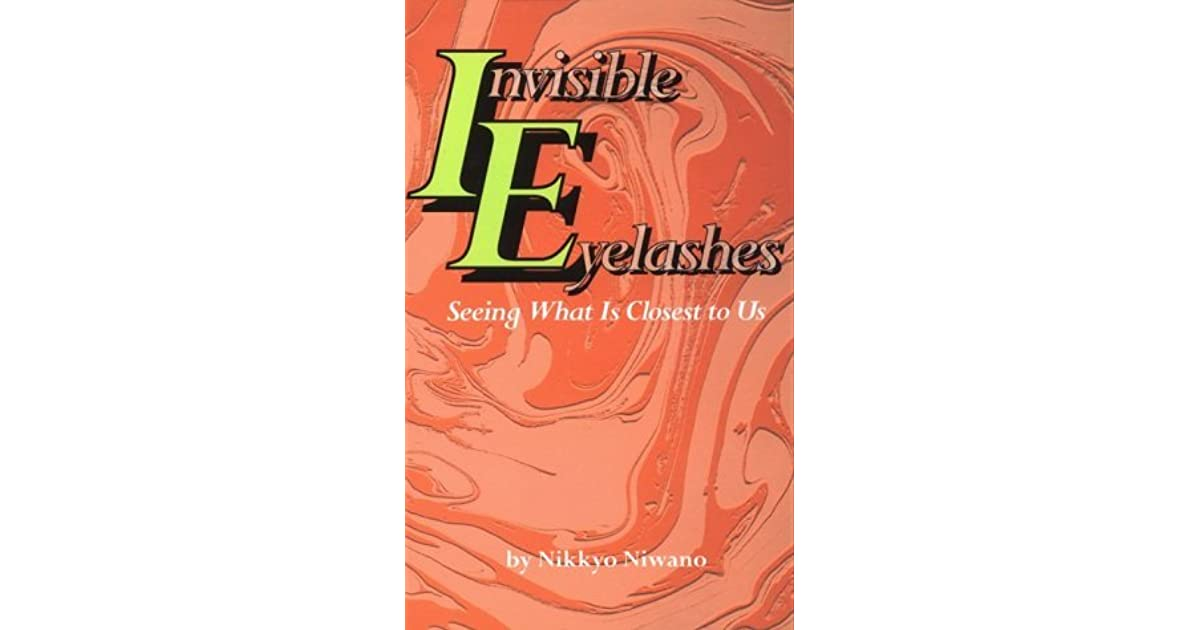 Invisible Eyelashes Seeing What Is Closest To Us By Nikkyo Niwano
