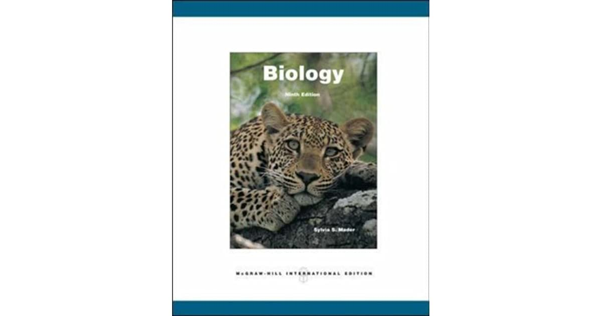 Biology by sylvia s mader fandeluxe Choice Image