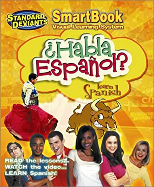 The Standard Deviants - Habla Espanol (Learn Spanish) (SmartBook Visual Learning System) [Includes Video]
