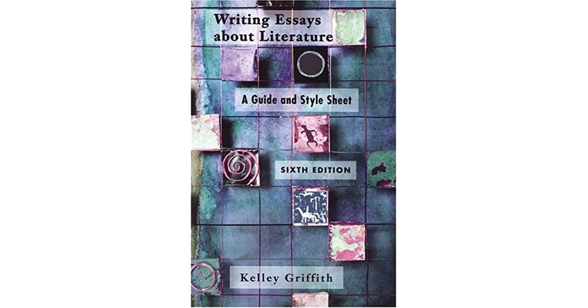 Writing essays help about literature griffith pdf