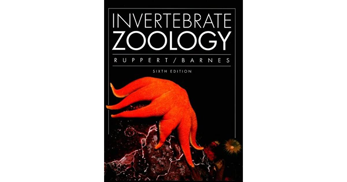 Invertebrate Zoology Ruppert Barnes 6th Edition Pdf