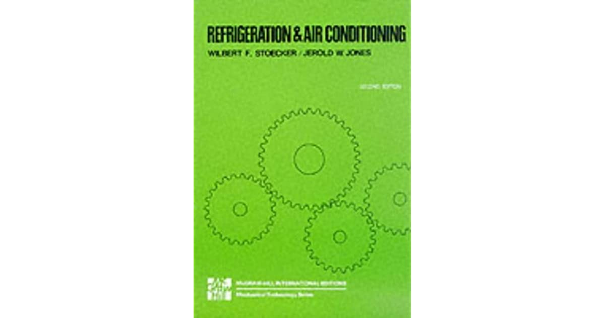 books on refrigeration and air conditioning