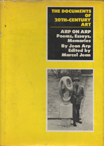 Arp on Arp by Jean Arp