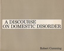 A Discourse on Domestic Disorder by Robert Cumming