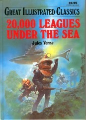 20,000 Leagues Under the Sea (Great Illustrated Classics)
