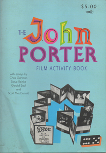 The John Porter Film Activity Book by Chris Gehman