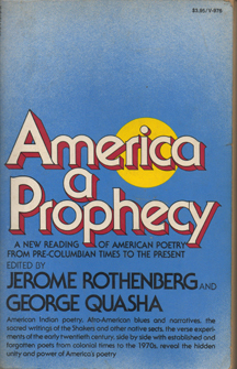 America, a Prophecy by Jerome Rothenberg