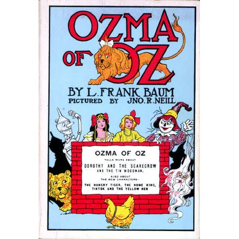 List of Oz characters (created by Baum)