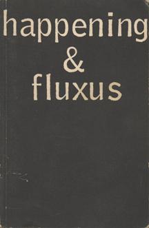 happening & fluxus by Hans Sohm
