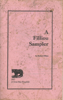A Filliou Sampler by Robert Filliou
