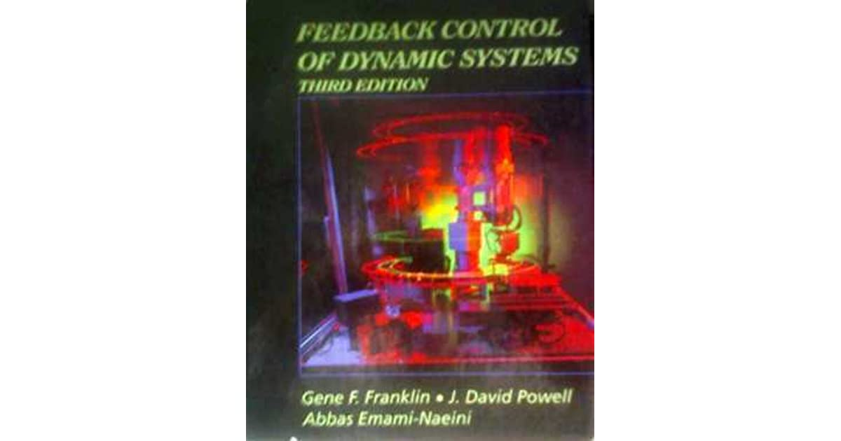 Feedback control of dynamic systems by gene f franklin fandeluxe Image collections
