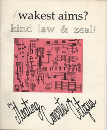 wakest aims?  kind law & zeal! by Floating Concrete Octopus