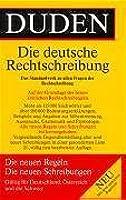 Duden: Die deutsche Rechtschreibung (21. Auflage)