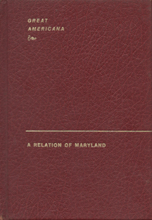 A Relation of Maryland by Andrew  White