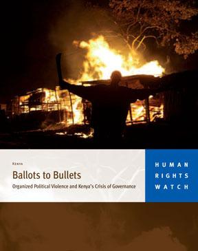 Ballots to Bullets:  Organized Political Violence and Kenya's Crisis of Governance