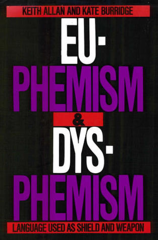 Euphemism & Dysphemism: Language Used As Shield And Weapon
