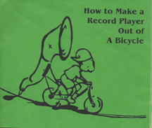 How to Make a Record Player Out of A Bicycle by Mark Dixon