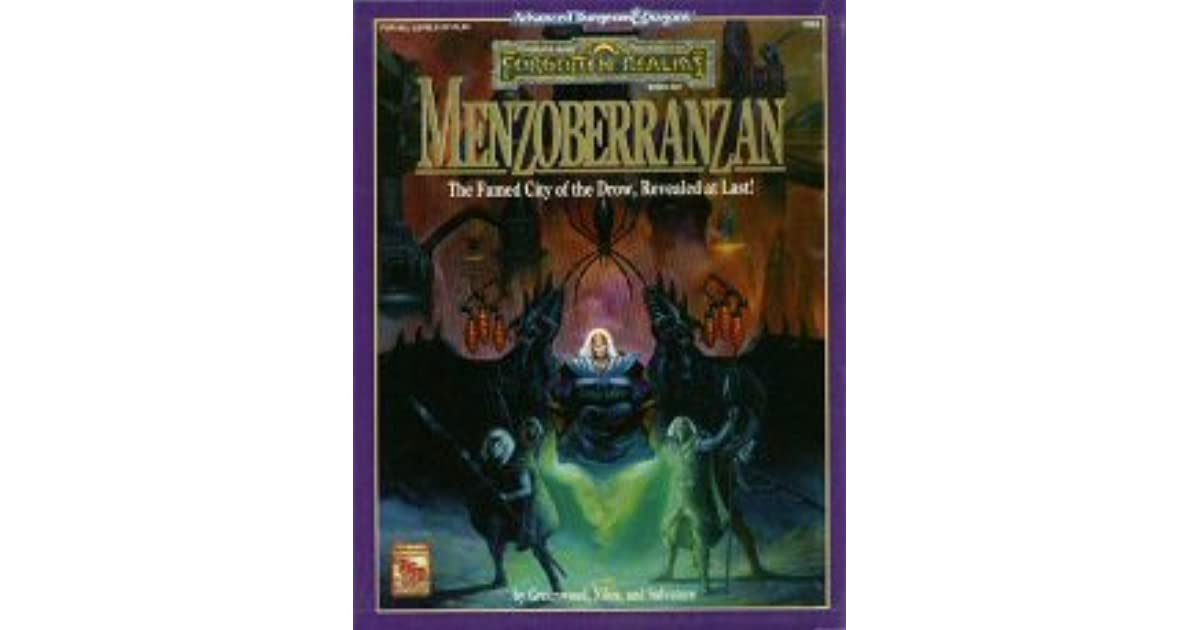 Menzoberranzan: Boxed Set by R A  Salvatore