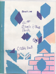 Black & Blue Book by Paper Rad