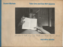 Take One And See Mt. Fujiyama, And Other Stories by Duane Michals