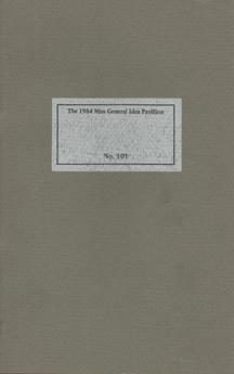 The 1984 Miss General Idea Pavillion No. 101 - LUXON V.B. by General Idea