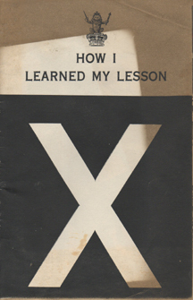 How I Learned My Lesson by John  Doe