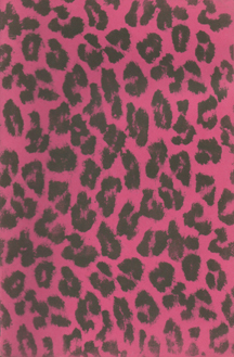 Hot Pink Leopard Skin by Half Japanese