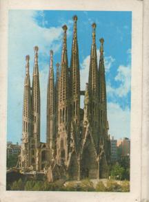 Templo Expiatorio Sagrada Familia Barcelona by Antonio Gaudi