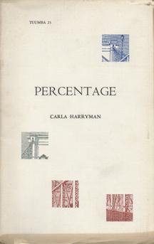 Percentage by Carla Harryman