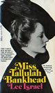 Miss Tallulah Bankhead
