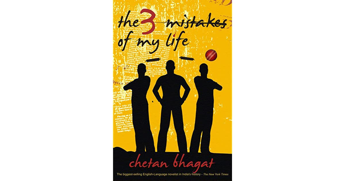 Chetan Bhagat Book 3 Mistakes Of My Life