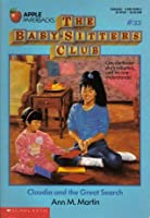 Claudia and the Great Search (The Baby-Sitters Club, #33)