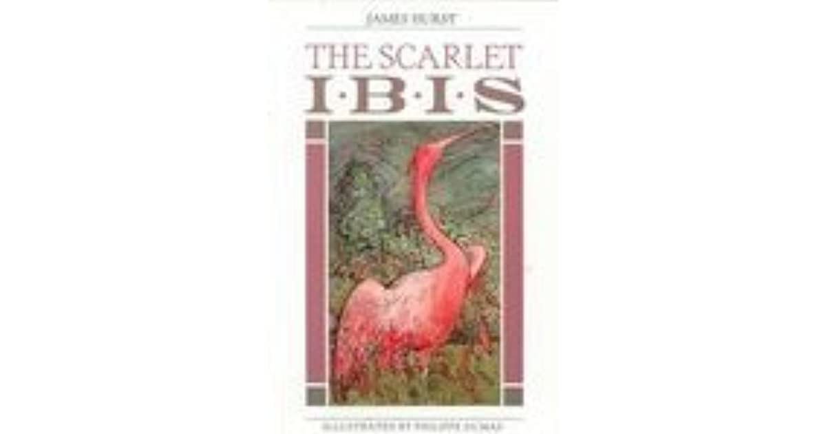 The Scarlet Ibis The Collection Of Wonder By James Hurst