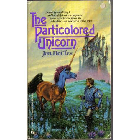 Ebook The Particolored Unicorn By Jon Decles