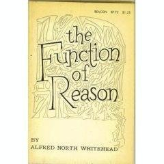 The Function of Reason by Alfred North Whitehead