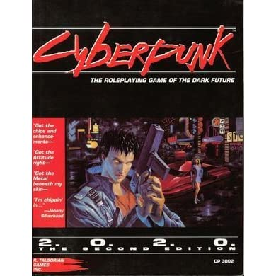 Cyberpunk The Roleplaying Game Of The Dark Future By Mike